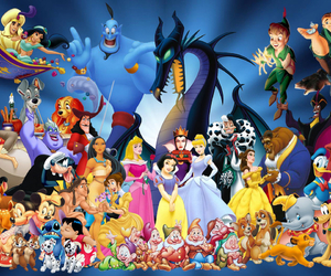disney, childhood, and character image