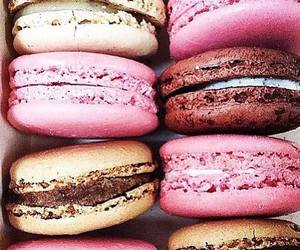food, macaron, and sweet image
