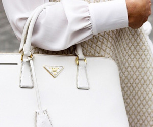 bag, Prada, and white image