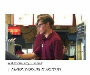 KFC, ashton irwin, and cute image