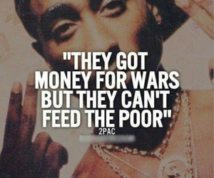2pac, money, and poor image
