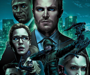 arrow, green arrow, and oliver queen image