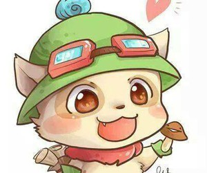lol, league of legends, and teemo image