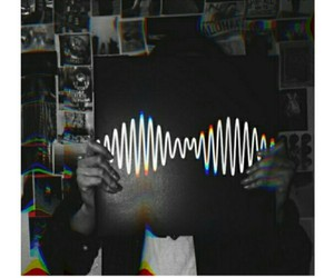 am, arctic monkeys, and b&w image