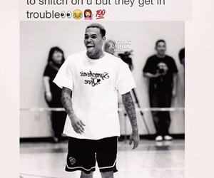 chris brown, funny, and handsome image