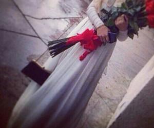 flower, dress, and fashion image
