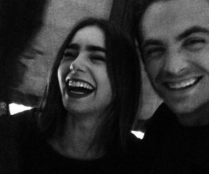 lily collins, celebrity, and smile image