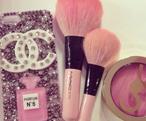 pink, chanel, and mac image