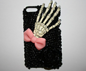 black, iphone case, and cute image