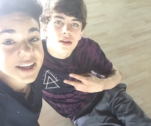 hayes grier, magcon, and daniel skye image