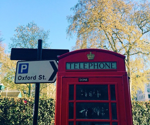 london, oxford, and telephone image