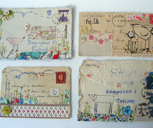 letters, art, and Collage image