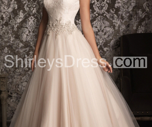 bling, dress, and gown image