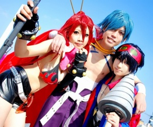anime, cosplay, and kamina image