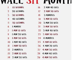 workout, challenge, and exercises image