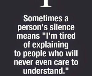 silence, quotes, and facts image