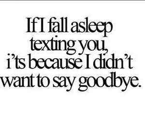 texting, goodbye, and quote image