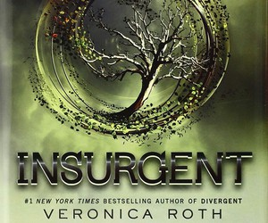 four, veronica roth, and insurgent image
