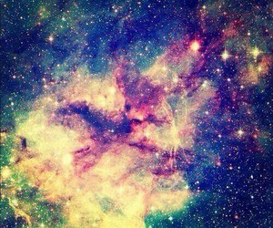 beauty, universe, and colors image