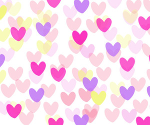 colour, heart, and pink image