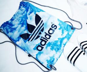 adidas, blue, and style image