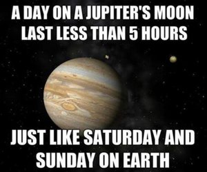 time flies, funny, and outer space image