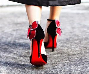 high heels, prom shoes, and shoes image