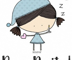 dormir, fofo, and noite image