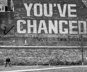 black and white, quote, and street art saying image