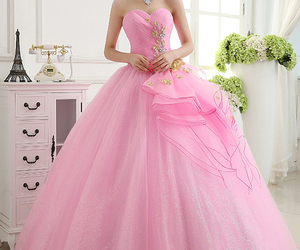 dress, quinceanera dress, and beading quinceanera dress image