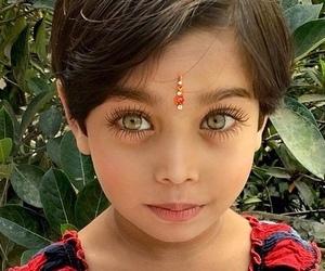 child, eyelashes, and eyes image