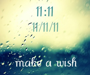 make a wish, 11 11 11, and text image