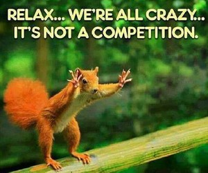 crazy, funny, and relax image