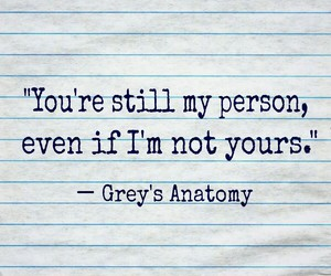 quotes, words, and grey's anatomy image
