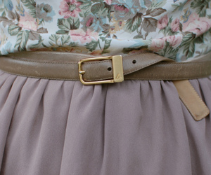 fashion, belt, and skirt image