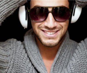 headphones and smile image