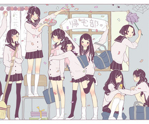 anime and uniform image