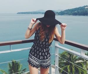 summer, bohemian, and girl image