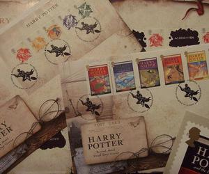 harry potter, letters, and seals image