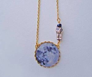 moon, accessories, and astronaut image