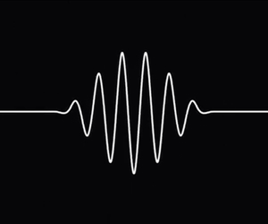 arctic monkeys, black, and music image
