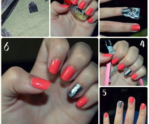 aluminium, diy, and nail art image