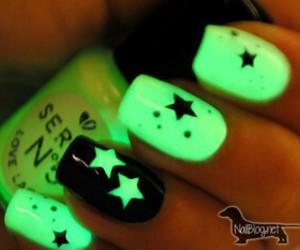 nails, stars, and green image