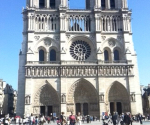 france, notre-dame, and monument image