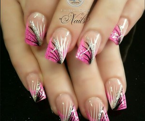 beauty, long nails, and beautyfull image