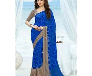 fashion, saree, and bollywood saree image