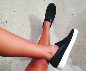 shoes, fashion, and legs image