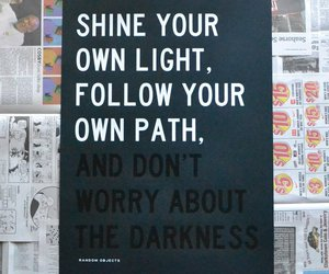 Darkness, follow, and quote image