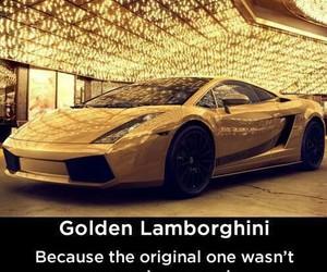 Lamborghini, golden, and car image