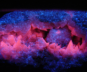 crystal, pink, and blue image